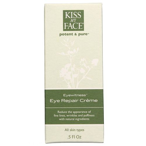 Kiss My Face Eye Witness Eye Repair Cream