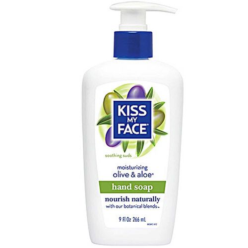Kiss My Face Moisturizing Olive and Aloe Hand Soap