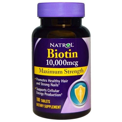 Natrol Biotin Maximum Strength 10,000 mcg