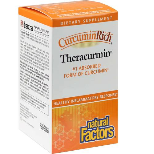 Natural Factors CurcuminRich Theracurmin 30 mg