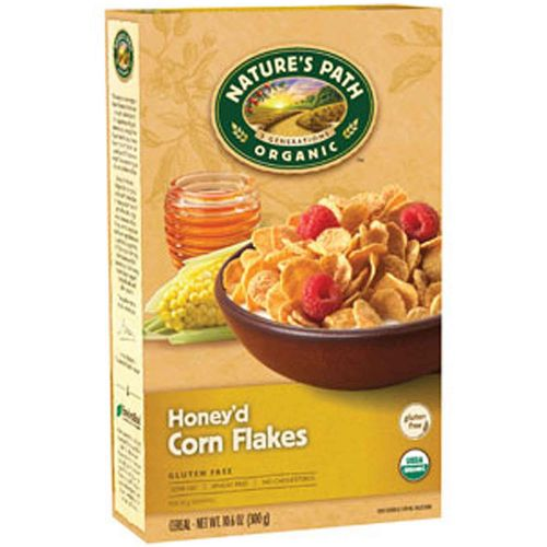 Natures Path Honey'd Corn Flakes