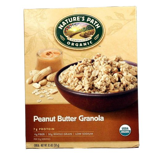 Natures Path Peanut Butter Granola