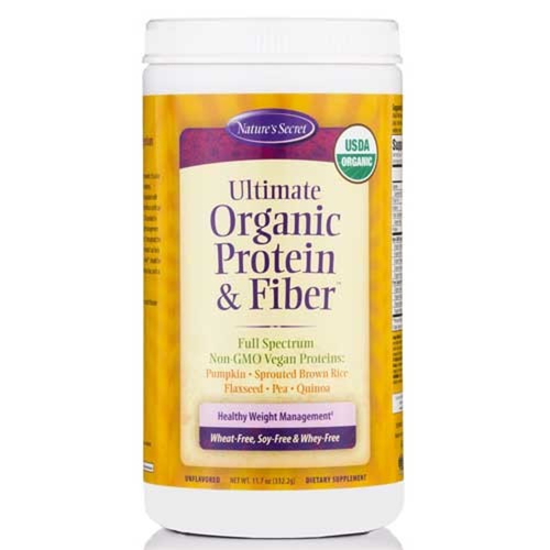 Nature's Secret Ultimate Organic Protein and Fiber