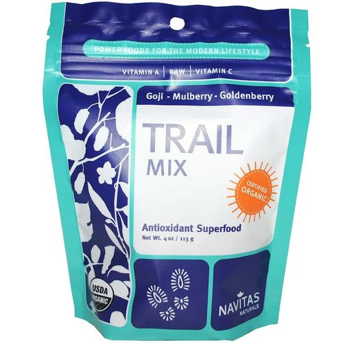 Navitas Naturals Trail Mix 3 Berry