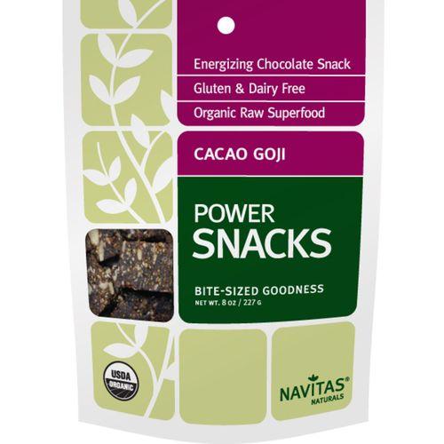 Navitas Naturals Goji Cacao Power Snacks