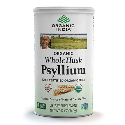 Organic India Organic Whole Husk Psyllium