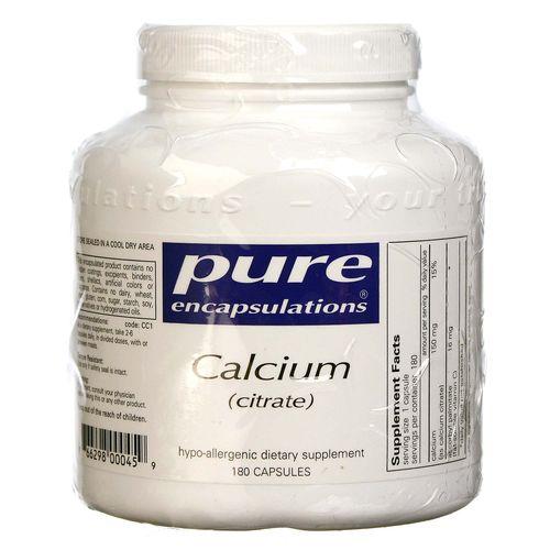 Pure Encapsulations Calcium (Citrate)