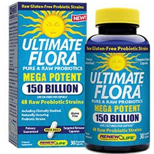 Renew Life Ultimate Flora Mega Potent 150 Billion