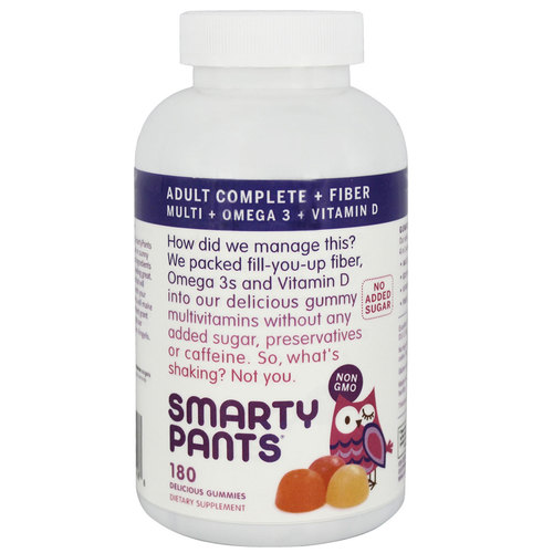 SmartyPants Vitamins Adult Complete + Fiber