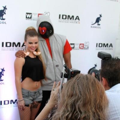 Brittany Smooch and Producer Bobby Drake