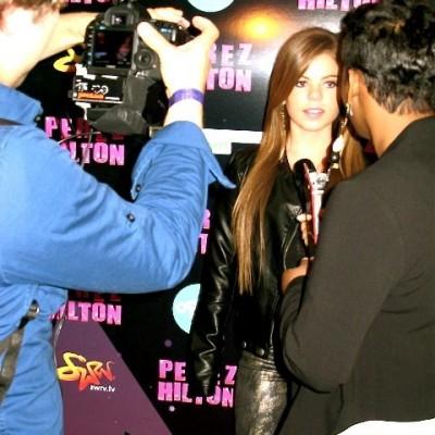 Brittany @ Perez Hilton event