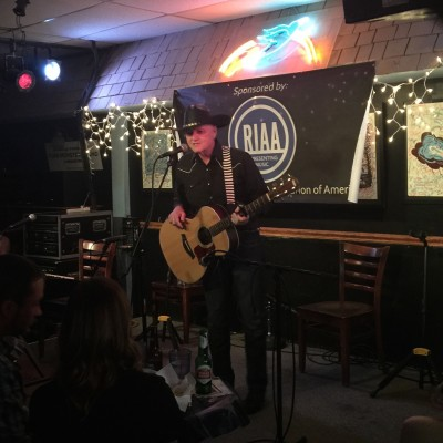 Grant Maloy Smith at the Bluebird Cafe