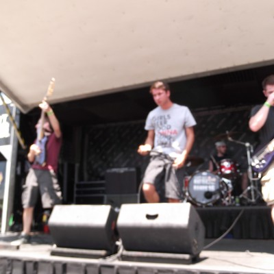 Pyro, Ohio at Warped Tour 2012