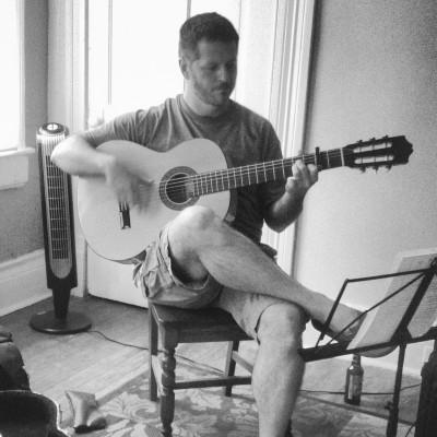 Steve Riggs recording session
