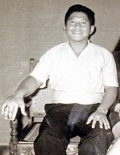 Lolo Soetoro, step father of Barack Obama and father of Obama's half sister Maya Soetoro-Ng from Indonesia