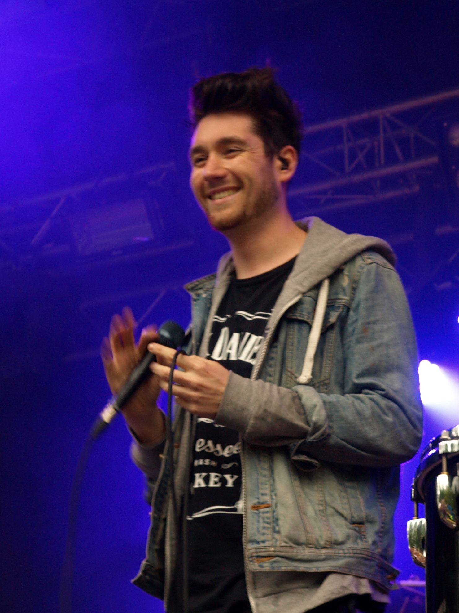 Dan Smith at Provinssirock festival 2013 in Seinäjoki, Finland