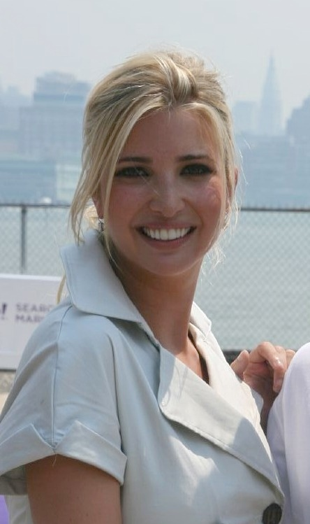 Ivanka Trump in July 2007