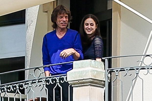 Jagger bianca wedding