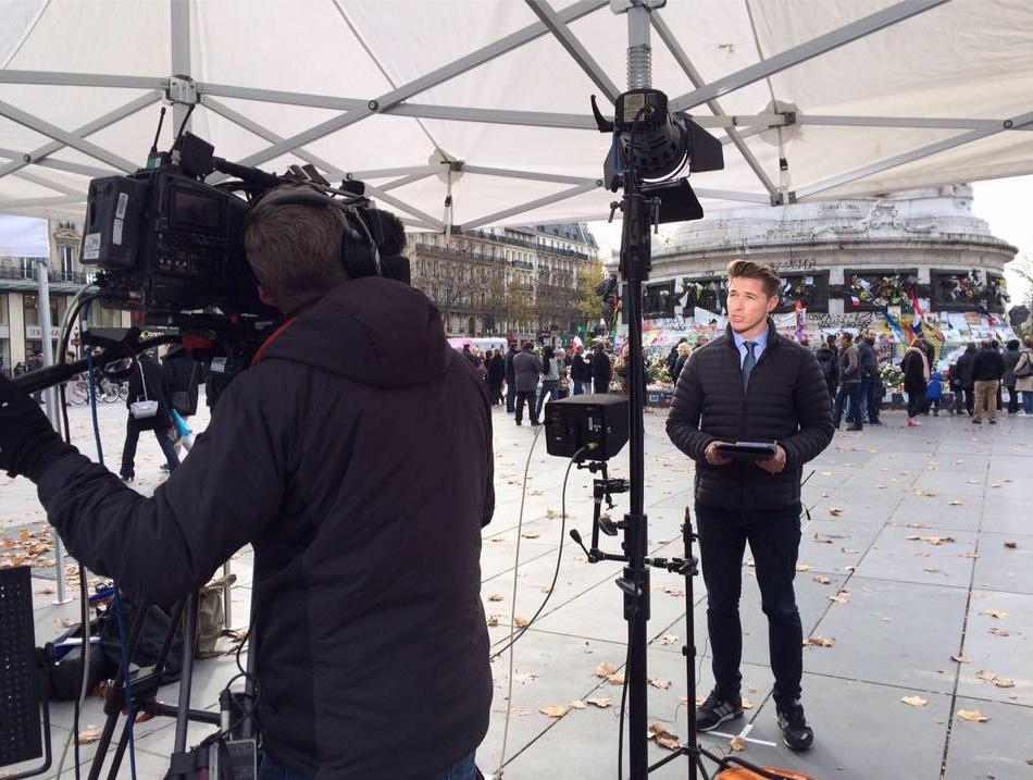 James Longman reporting