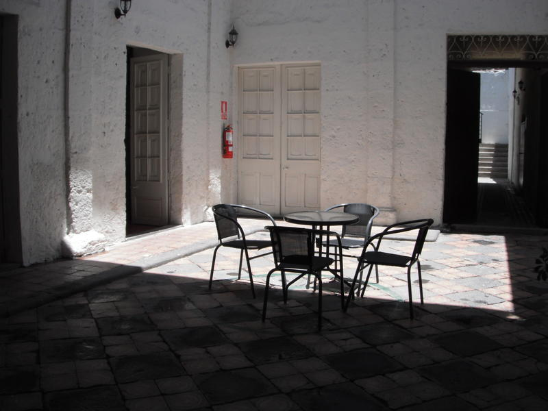Promotional photograph from #Dragonfly Hostels Arequipa's website
