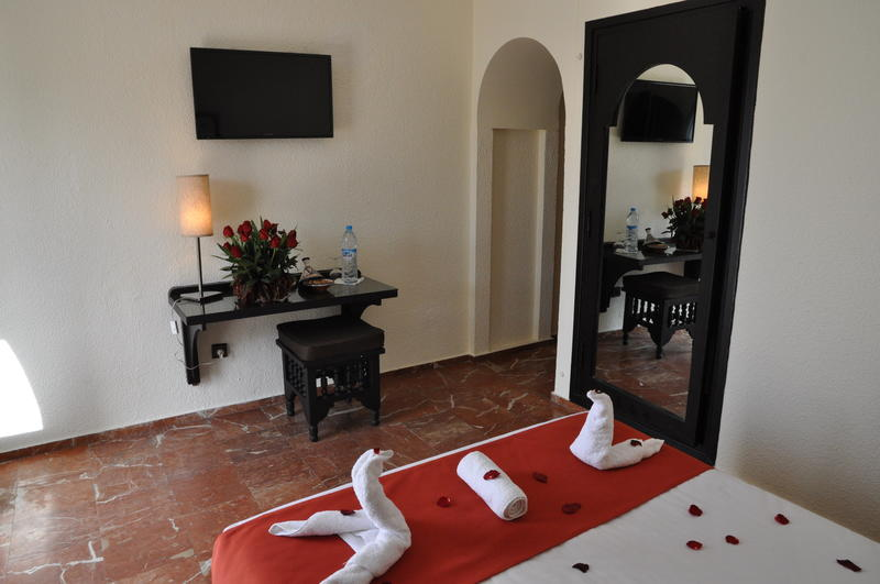 Promotional photograph from #Hotel Les Omayades's website
