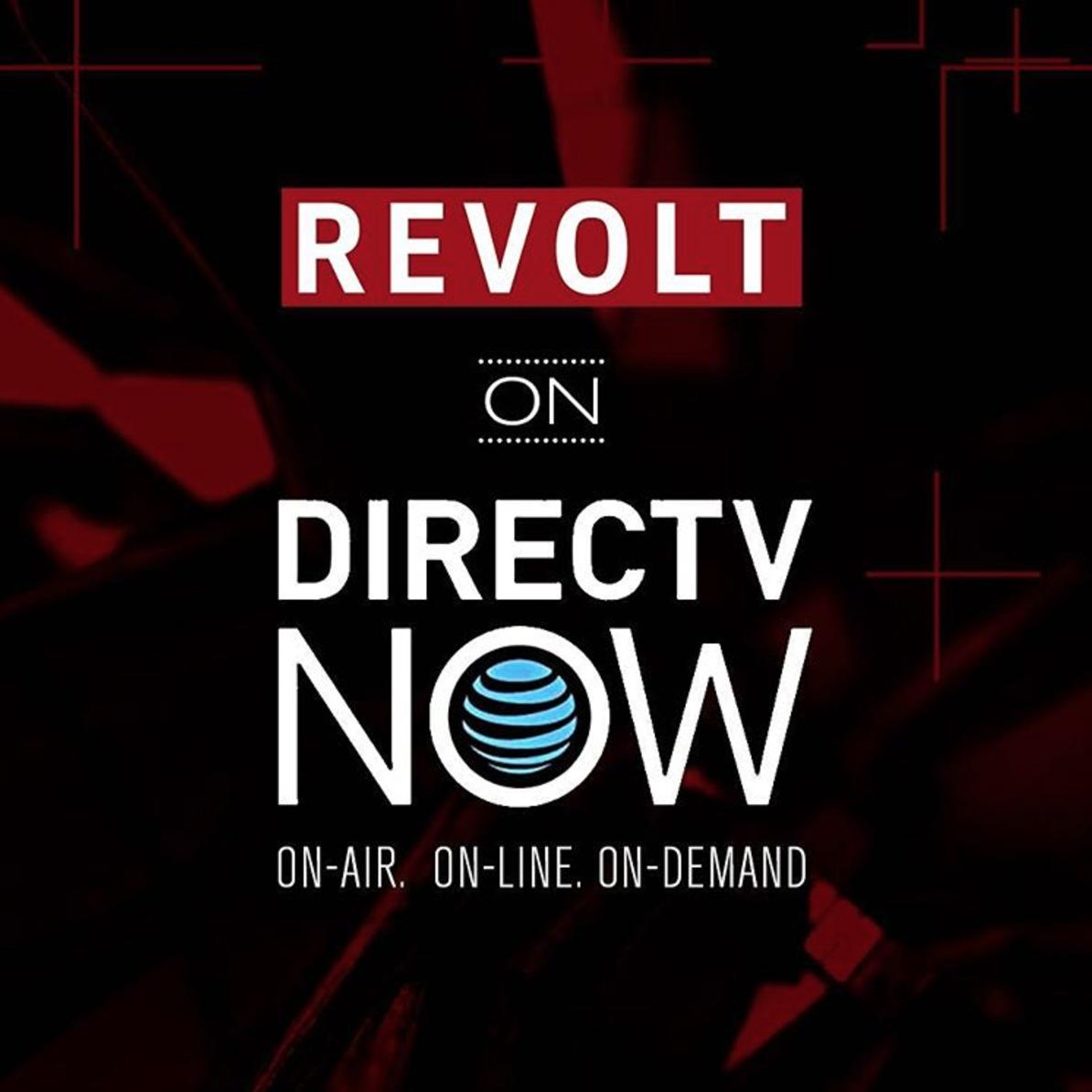 REVOLT now available onDirecTV.[20]