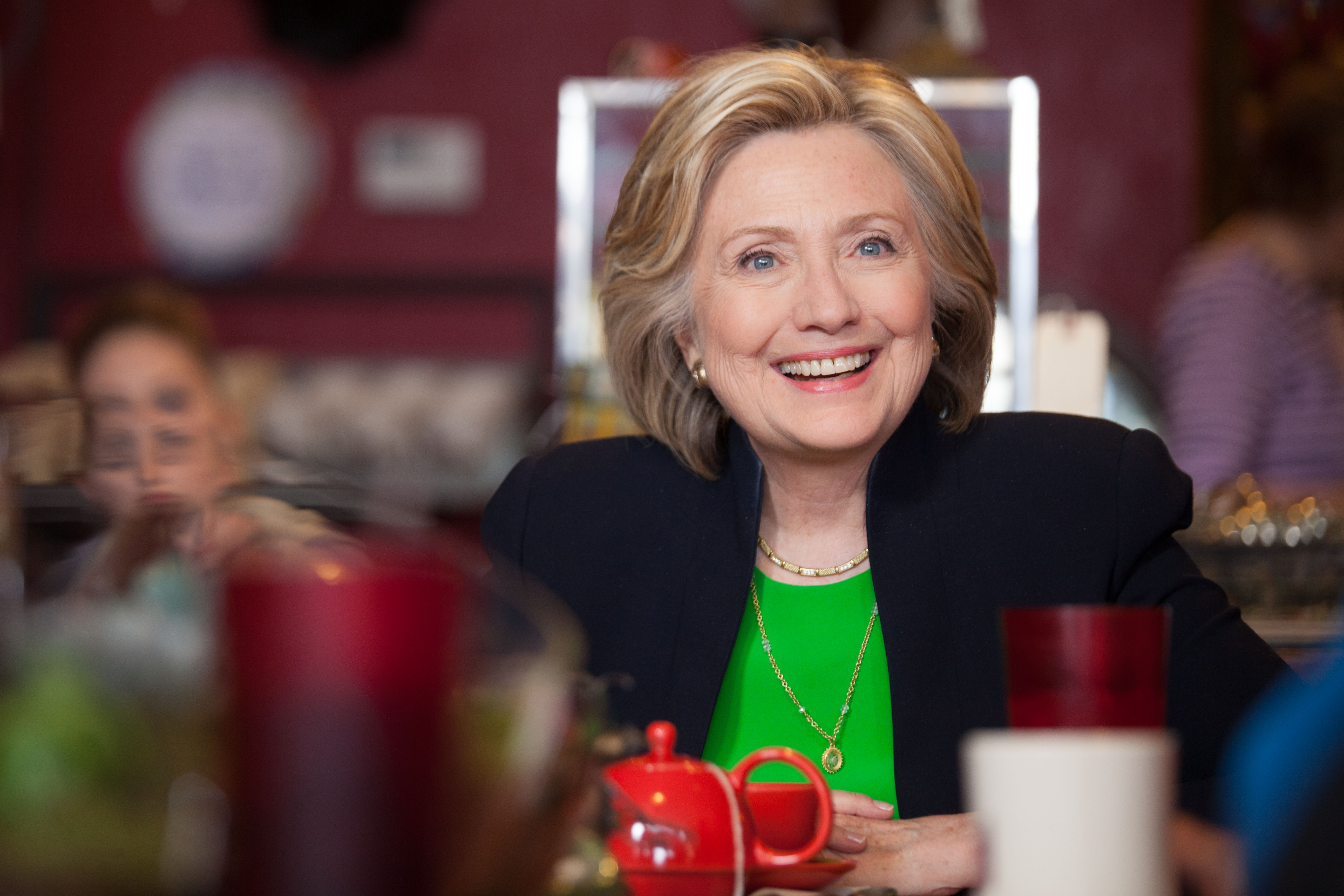 Clinton in 2015