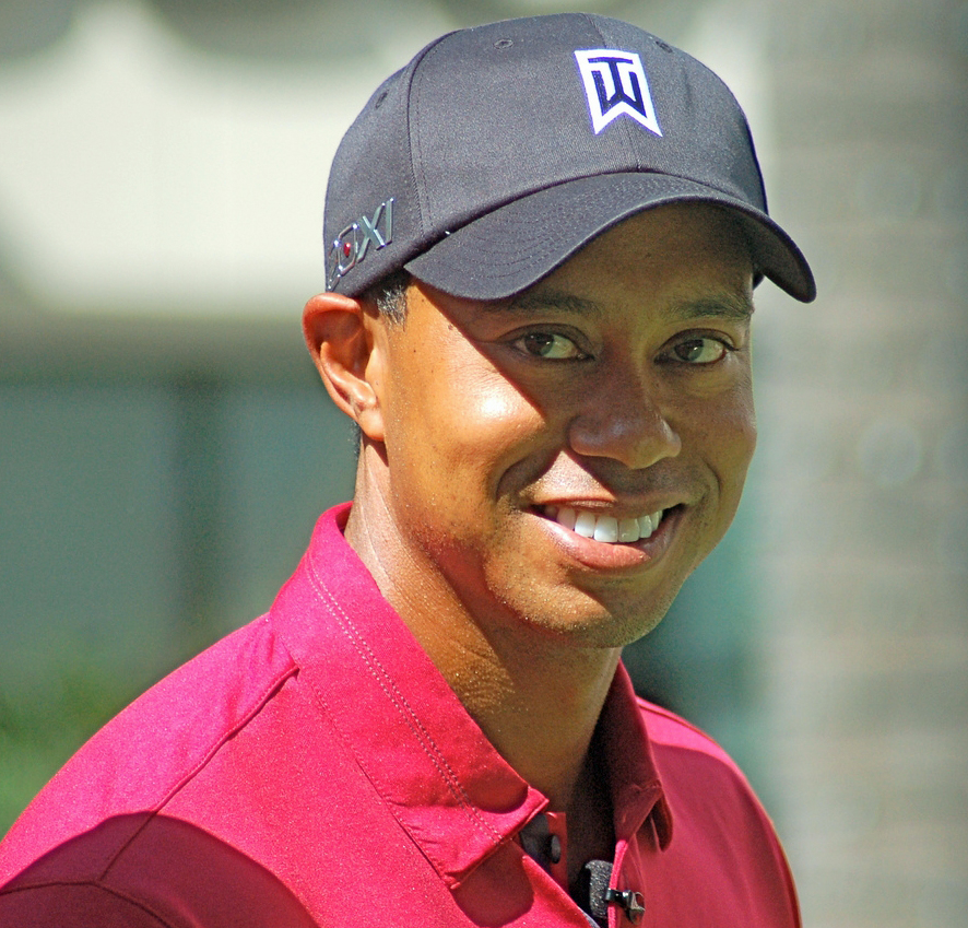 Woods at a Chevron World Challenge charity event (2011)