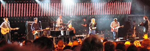 The Fray performing at BBC Radio 1's Big Weekend in 2007