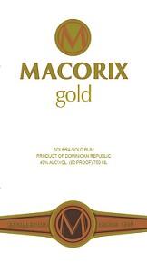 Macorix Rum Gold