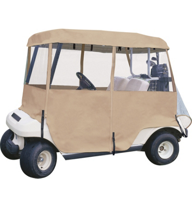 Tour Trek 4-Sided Deluxe Golf Cart Cover FE