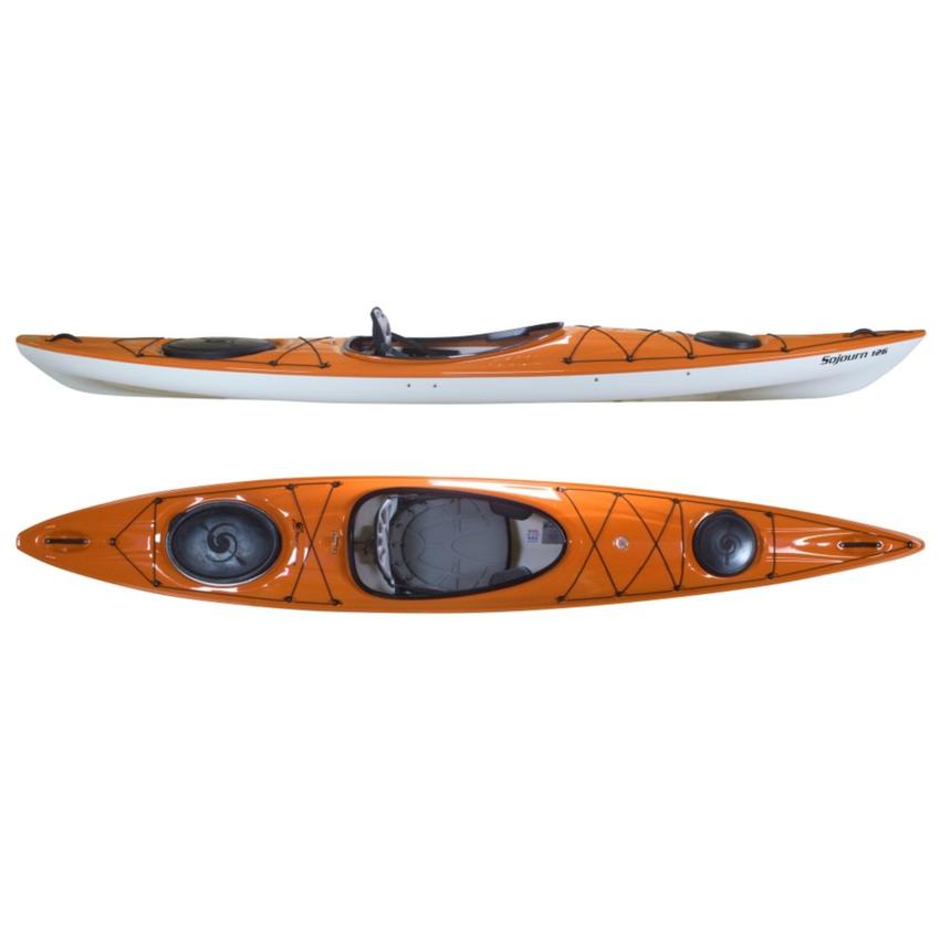 Hurricane Sojourn 126 Light Touring Kayak