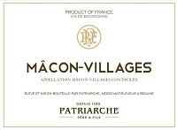 Patriarche Pere & Fils Macon-Villages 2013
