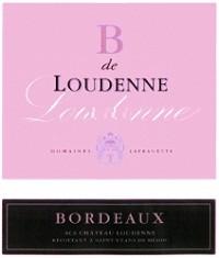 Chateau Loudenne Bordeaux B de Loudenne 2011