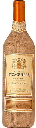 Vino de Eyzaguirre Cabernet Sauvignon Wine In The Sack 2015
