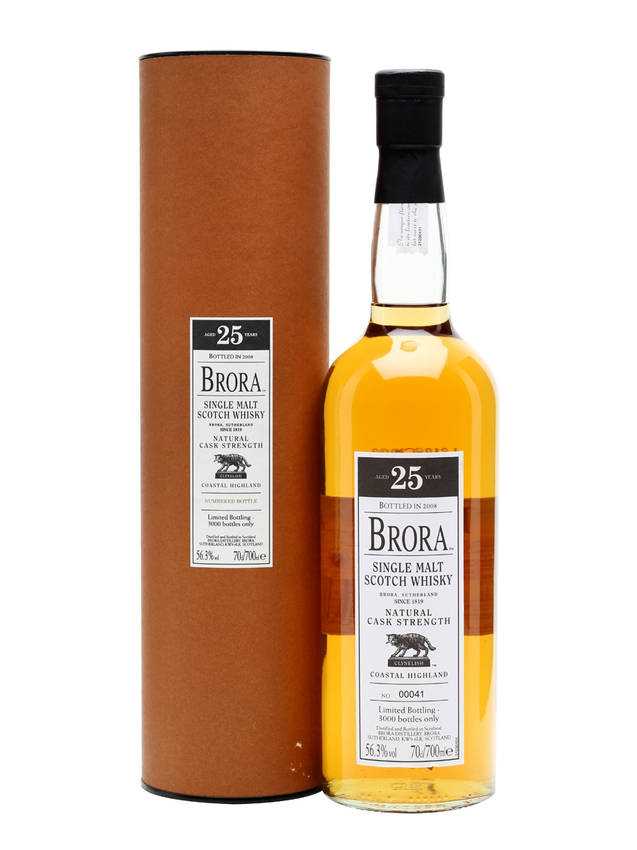 Brora 25 Year Old 7th Release Bot.2008