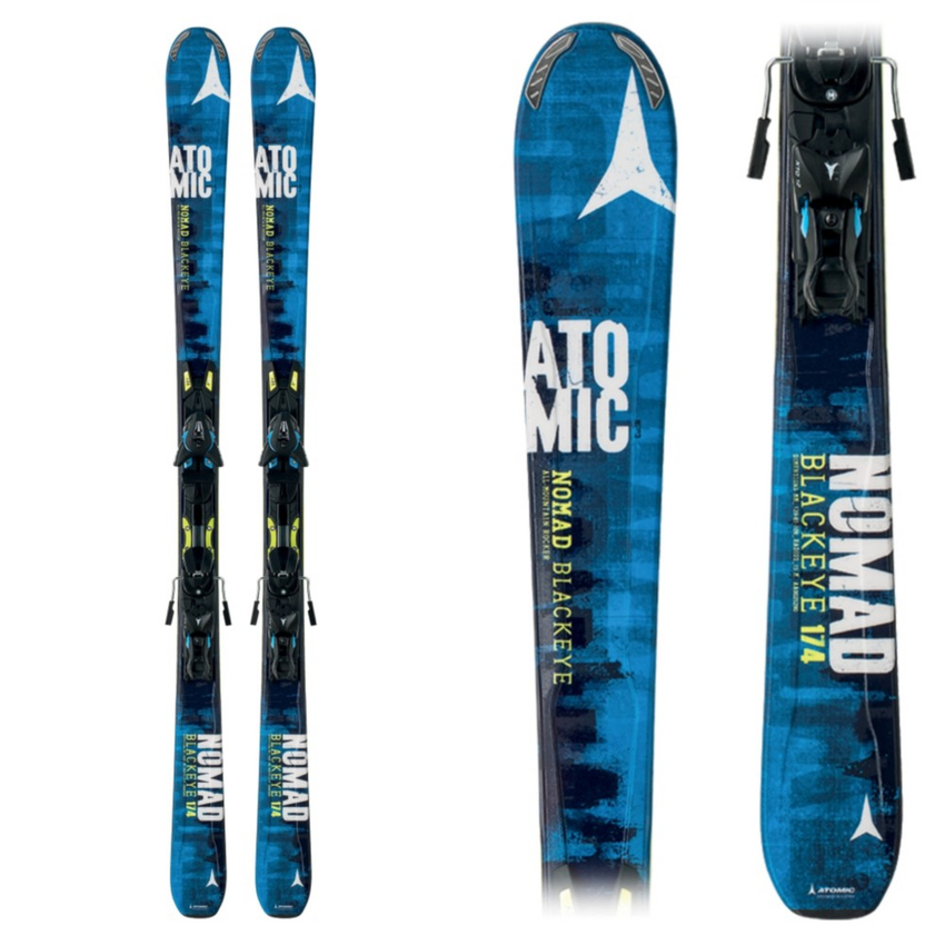 Atomic Nomad Blackeye Skis with XTO 12 Bindings