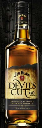 Jim Beam Bourbon Devil's Cut 90@