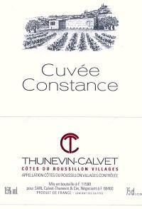 Calvet Thunevin Cuvee Constance 2012