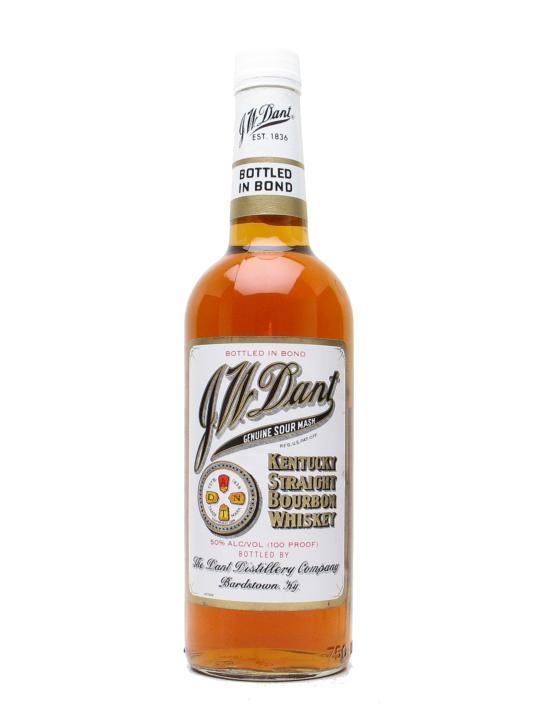 J W Dant Bottled in Bond