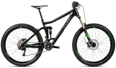 Cube Stereo 160 C:62 Race Suspension Bike 2016