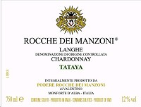 Podere Rocche dei Manzoni Langhe Chardonnay Tataya 2013