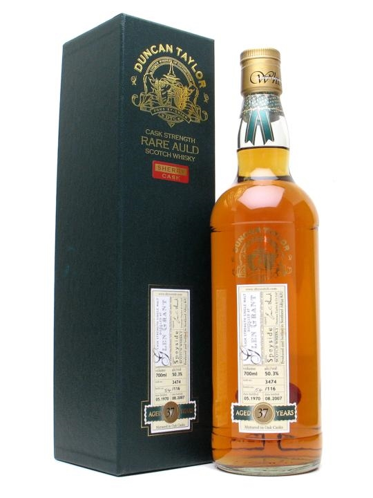 Glen Grant 1970 37 Year Old Sherry Cask