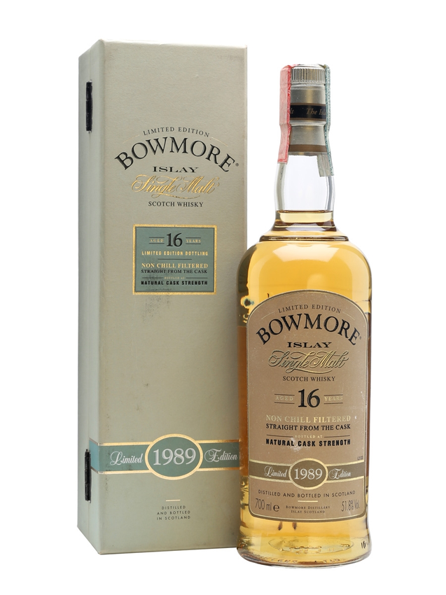 Bowmore 1989 16 Year Old Bourbon Cask