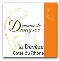 Domaine de Dionysos Cotes du Rhone La Deveze 2013