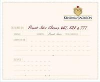 Kendall Jackson Pinot Noir Clones 667 828 & 777 2012