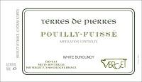 Verget Pouilly-Fuisse Terres de Pierres 2014