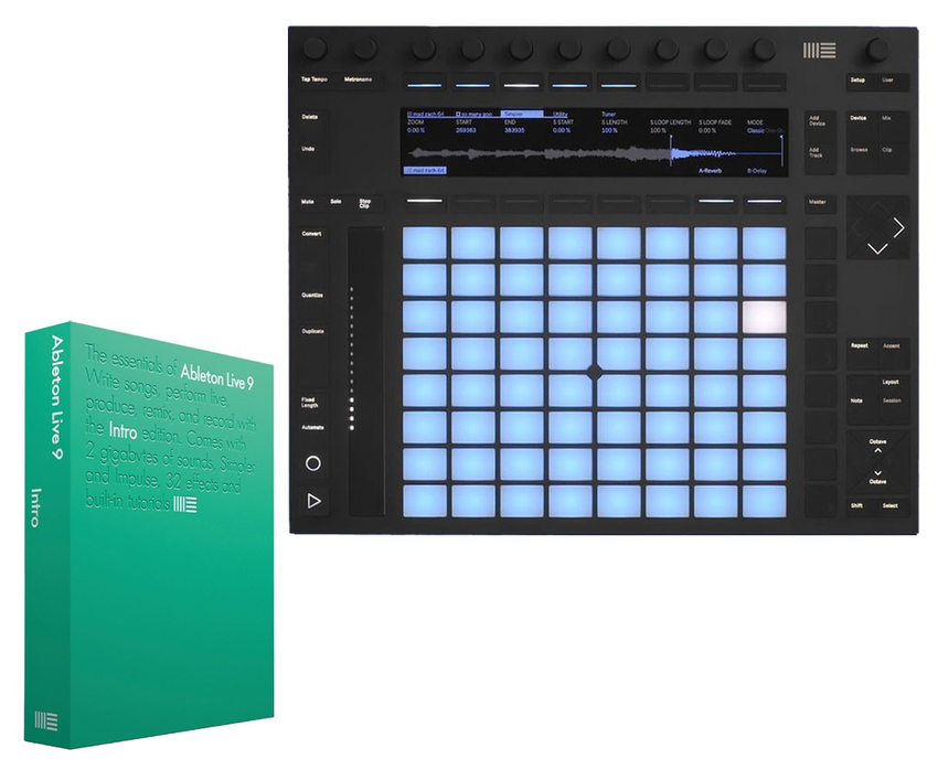 Ableton Push 2 with Live 9 Intro