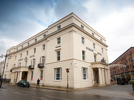 Travelodge: The Regent Hotel Leamington Spa Hotel