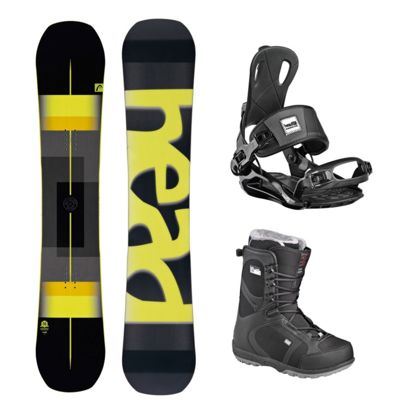 Head Daymaker Wide Scout Pro Complete Snowboard Package 2016